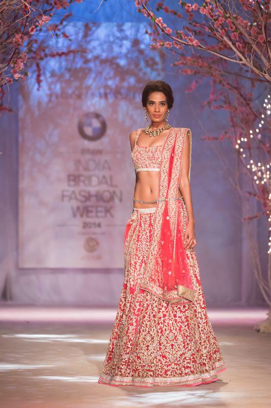 Lengha by Jyotsna Tiwari at India Bridal Fashion Week 2014