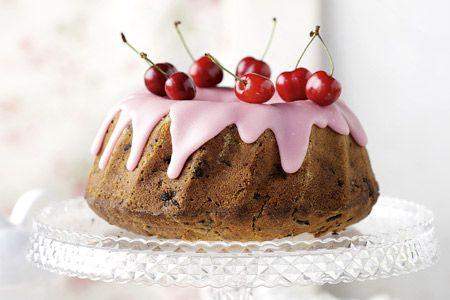 Κέικ µε κεράσια - Συνταγές   γλυκές ιστορίες