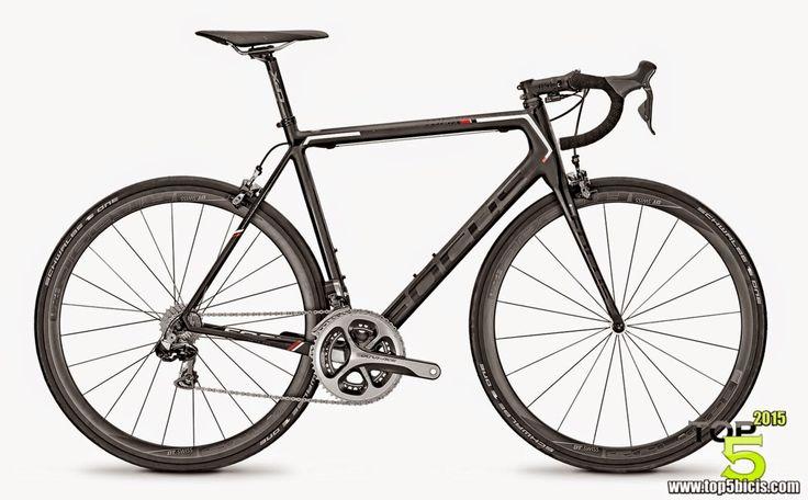 TOP 5 - BICICLETAS DE CARRETERA: Gran bici esta Focus Izalco Max 1.0