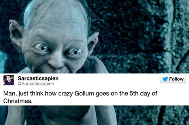 "22 Tweets About ""Lord Of The Rings"" That'll Make You Laugh Every Time"