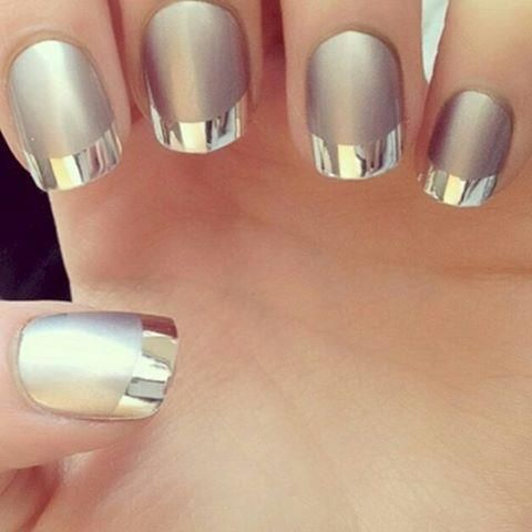 Metallic nails                                                                                                                                                                                 More