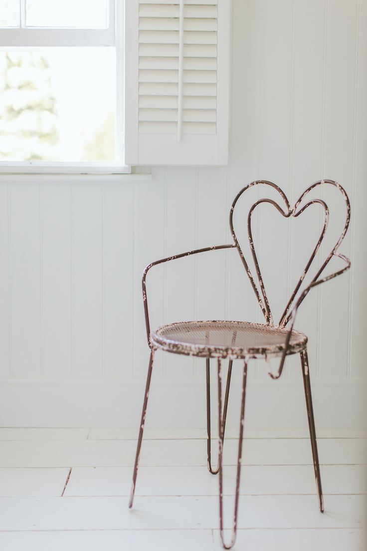 Heart Chair And Window Shutters - Image By Adam Crohill