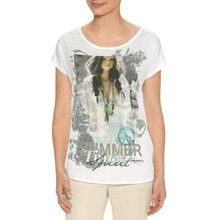 Gerry Weber White Trendy Graphic Print Top