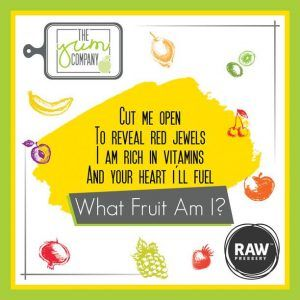 "All Candidates participate in the ""What-Fruit-Am-I contest"" and get a chance to win Yum Chef Apron every day."