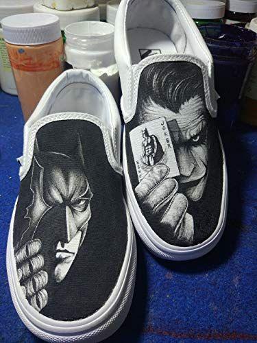 ed74e1ee55 Shoes Vans Batman Women Men Vans Shoes Hand Painted Shoes