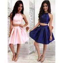 Blaues kleid rosa schuhe