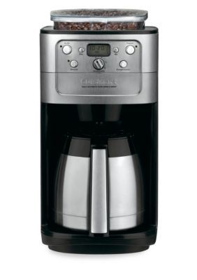 Cuisinart  Grind & Brew 12-Cup Thermal Coffee Maker - Dgb900bc - Chrome - One Size