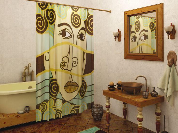 WESS Skif - занавеска для ванной комнаты из ткани 180x200 см. Цена 1150р. Посмотреть на сайте: http://likemyhome.ru/catalog/shtorki-karnizy-kolca/00004044 #likemyhome #showercurtain #bathroomdecor #interiorstyle #wess #skif