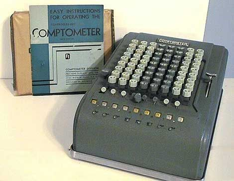 The comptometer was the first commercially successful key-driven mechanical calculator, patented in the USA by Dorr E. Felt in 1887.  A key-driven calculator is extremely fast because each key adds or subtracts its value to the accumulator as soon as it is pressed and a skilled operator can enter all of the digits of a number simultaneously, using as many fingers as required, making them sometimes faster to use than electronic calculators.