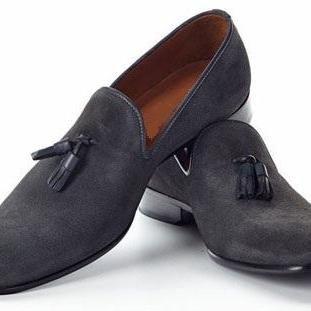 Image result for handmade mens black suede leather mocassins, men's black dress…