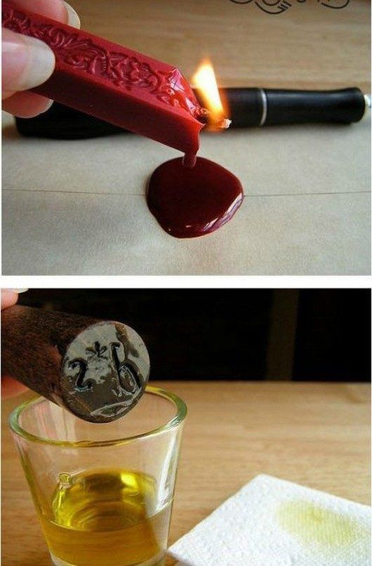 DIY  HOW TO: Create a Home Made Wax Seal