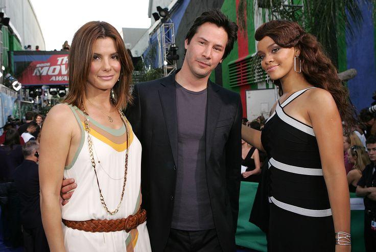 Sandra Bullock Keanu Reeves:  Top Hollywod Stars