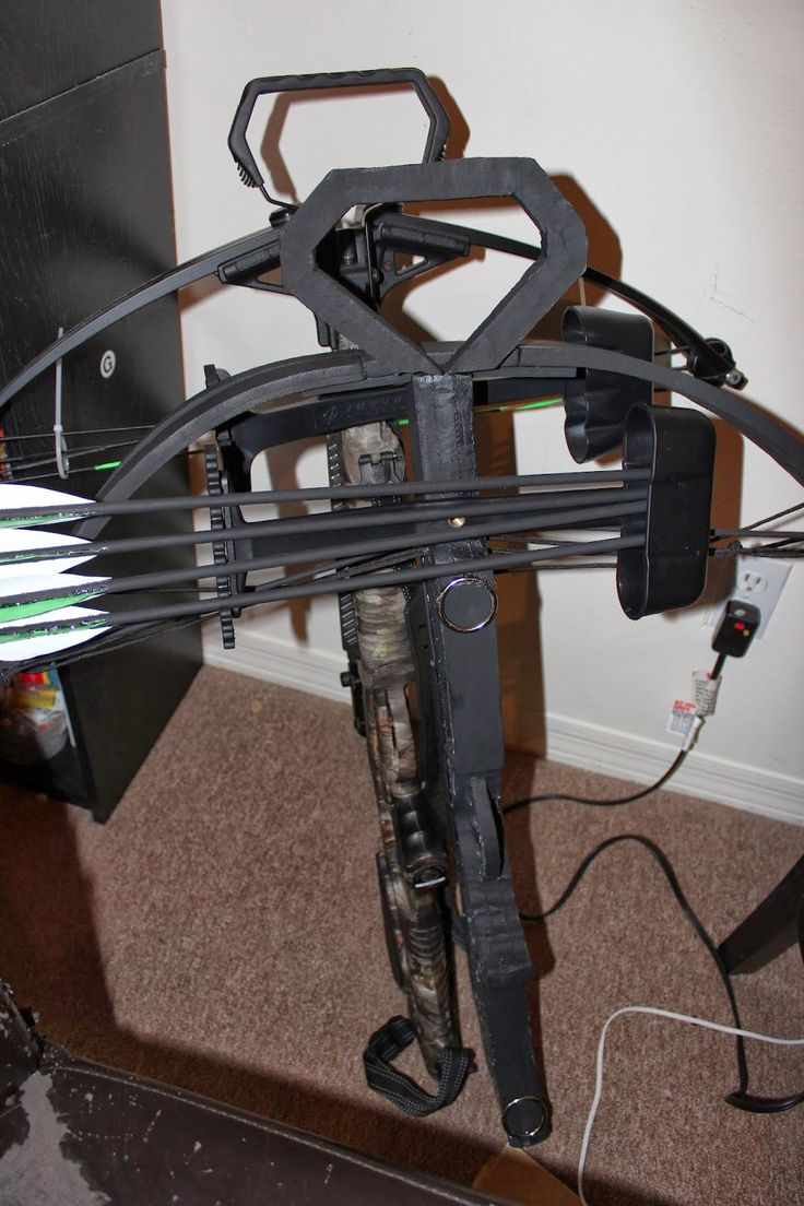 DIY Daryl Dixon crossbow part three of three