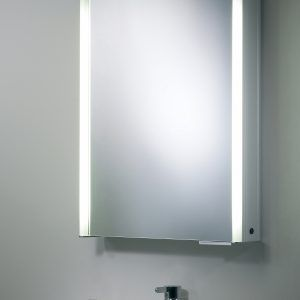Slim Bathroom Cabinet With Mirror And Light