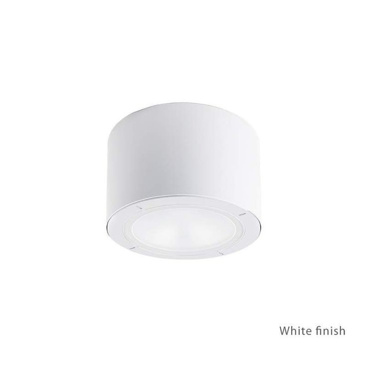 "Modern Forms FM-W9100 Vessel 1 Light 6"" Wide LED Outdoor Flush Mount Ceiling Fix"