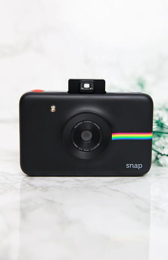 Polaroid - Snap Camera - Black from Peppermayo.com