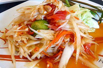 Som Tam Thaise Papaya salade, oh, jammie!