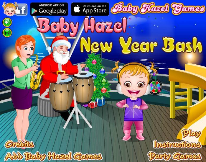 Join Baby Hazel to enjoy New Year bash at the Ice Castle. Play games and sip icy drinks in chilly weather. http://www.babyhazelgames.com/games/baby-hazel-newyear-bash.html