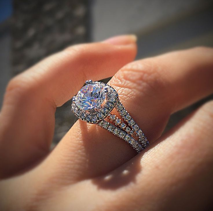 34 best rose gold engagement rings images on pinterest