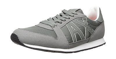 A|X Armani Exchange Men's Retro Running Sneaker Fashion Sneaker... Free Shipping