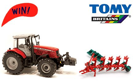 We've teamed up with TOMY to give you the chance in winning some fantastic Farm range goodies! Create your own farm with the Masset Ferguson 6600 Tractor plus the Kverneland Plough and Packomat! We have 6 to give away! Closing Date 24 November 14