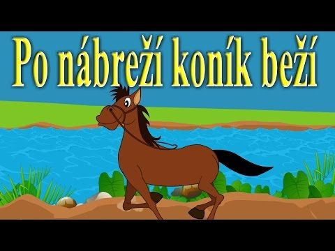 Po nábreží koník beží | Zbierka | 17 minútový mix | Slovenské detské pesničky - YouTube