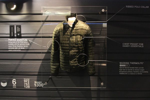 #North #Sails #Pitti #Immagine #Man #2014 #2015 #Fall #Winter #Collection #Pertex #Jacket #Wenox #fabric