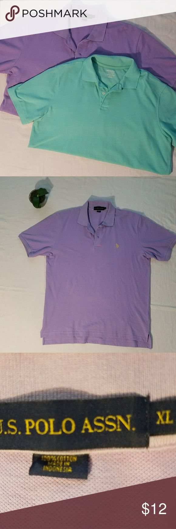 BUNDLE of 2 Short Sleeve Polo Shirts Size XL ~BUNDLE of 2 Short Sleeve Polo Shirts  Brands: U.S. POLO ASSN. & Merona ~Size: XL  ~Measurements: Coming Soon  *Measurements are approximate* ~Gently Used | In Good Condition |   ~Feel free to ask Questions and Make an Offer~ ~Stock #: U.S. Polo Assn. Shirts Polos