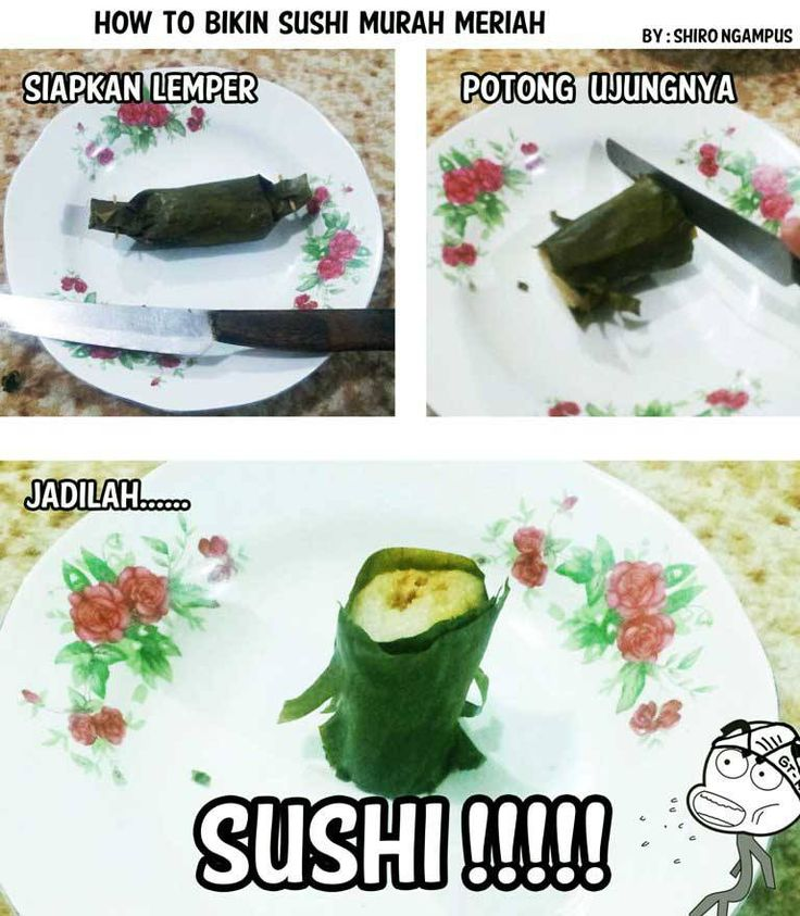 Sushi murah-meriah ...