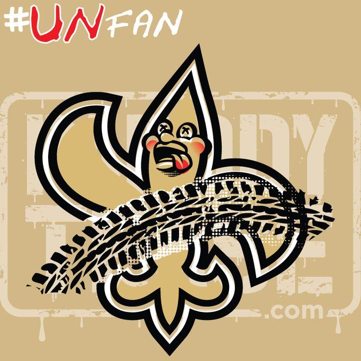 Funny Saints Parody Logo #UNfan #Saints #Buccaneers #Falcons #Panthers #NFL #ParodyTease #memes