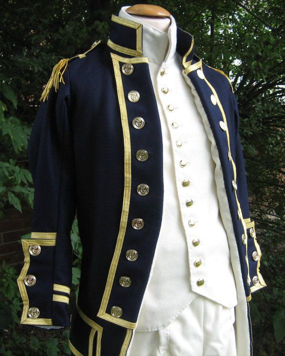 #British #Royal #Navy Uniform 1795 pattern by DeborahLoughCostumes, £1570.00