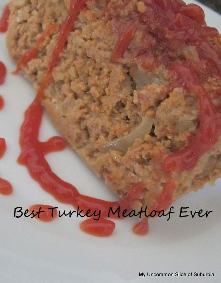 how to make meatloaf with turkey meat