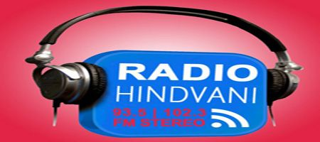 """Radio Hindvani Listen Live Hindvani Radio indicates """"Voice of Hindi"""" and are currently broadcasting on 91.5 FM in Durban and around places and on 102.3 FM in"""