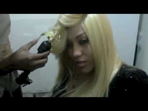 ▶ Full Head Weave With Side Invisible Part - YouTube