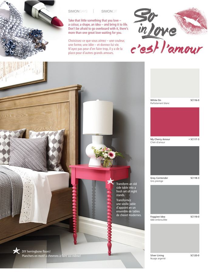 Take that little something that you love, a colour, a shape or idea, and bring it to life with inspiration from Simon Chang and #BeautiTone Paint!