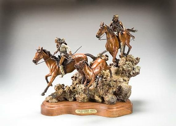 Bronze Sculpture Thundering Past limited edition