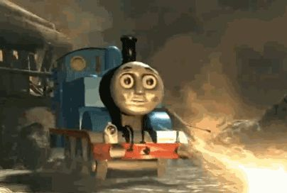 Thomas The Tank Engine- Set the world of fire