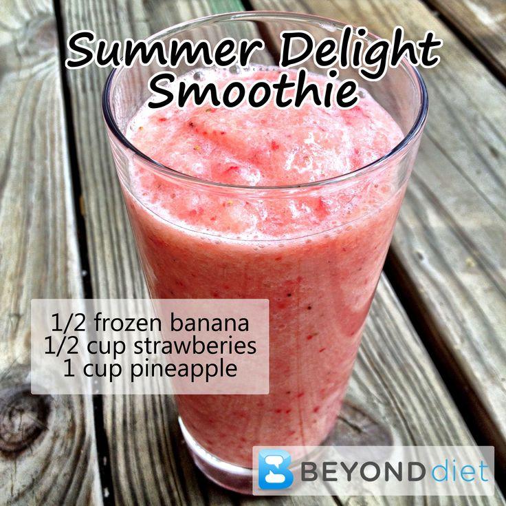 Summer Delight Smoothie #BeyondDiet #Recipes