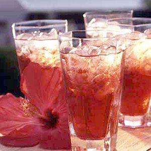 50 Favorite Cocktails | Hibiscus Tea Punch | CoastalLiving.com