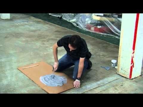 How to Paint Your Floor With EpoxyShield - YouTube