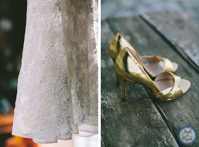 Gold details | Wedding by Stella and Moscha - Exclusive Greek Island Weddings | Photo by George Pahountis