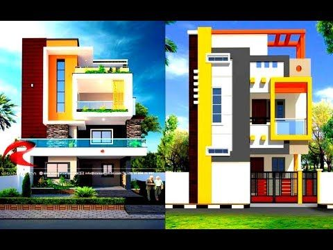 Top 80 Colour Combination For Home Exterior House Front Elevation Designs 2019 Youtube Front Elevation Designs Color Combinations Home House Front