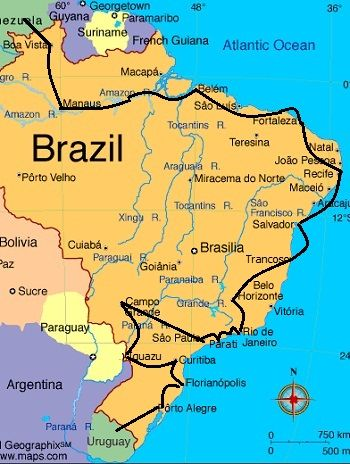 Recommended Brazil Travel Itineraries   Brendan's Adventures
