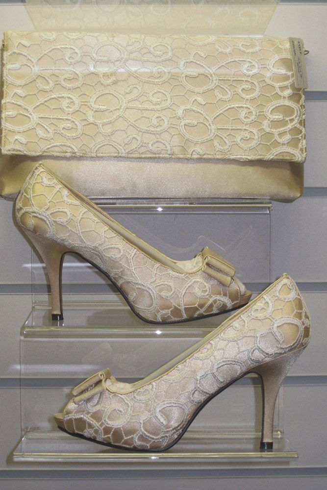Flr213 Zlr213 Beige Wedding Shoes And Bags Compton House Of Fashion