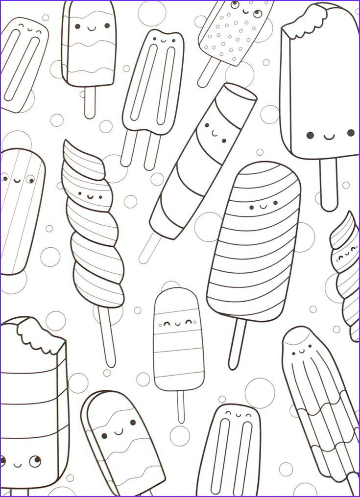13 Beautiful Photos Of Sweet Treats Coloring Page in 2020 ...
