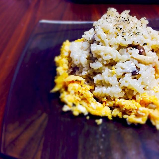 ゴーダチーズを使って。 - 10件のもぐもぐ - キノコのリゾット by takumafuruta