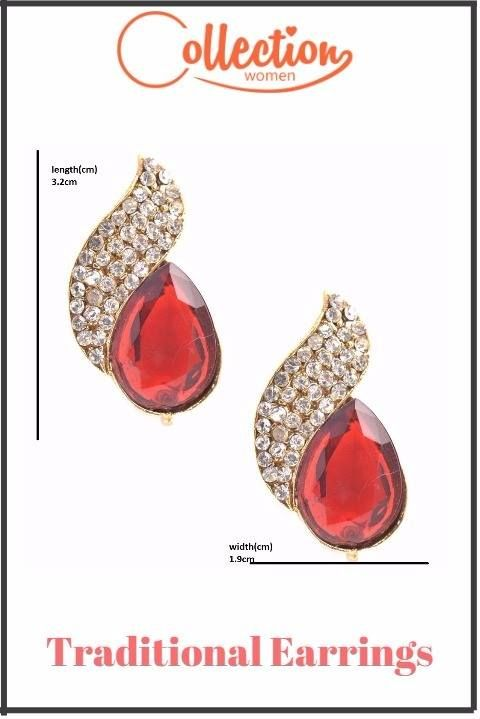 Small Size Red Color Studs [http://bit.ly/2rmlJpk?utm_content=buffer47a44&utm_medium=social&utm_source=pinterest.com&utm_campaign=buffer] For Girls. Designer Earrings Exclusive Range Available Only on Collectionwomen.com [http://bit.ly/2rmlJpk?utm_content=buffer47a44&utm_medium=social&utm_source=pinterest.com&utm_campaign=buffer] #womenearrings #girlstuds #earstuds #fancyearrings #jewelry #traditionalearrings
