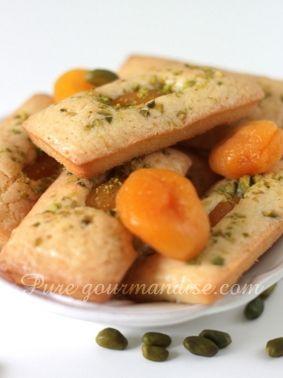 financiers abricots pistache recette pure gourmandise puregourmandise