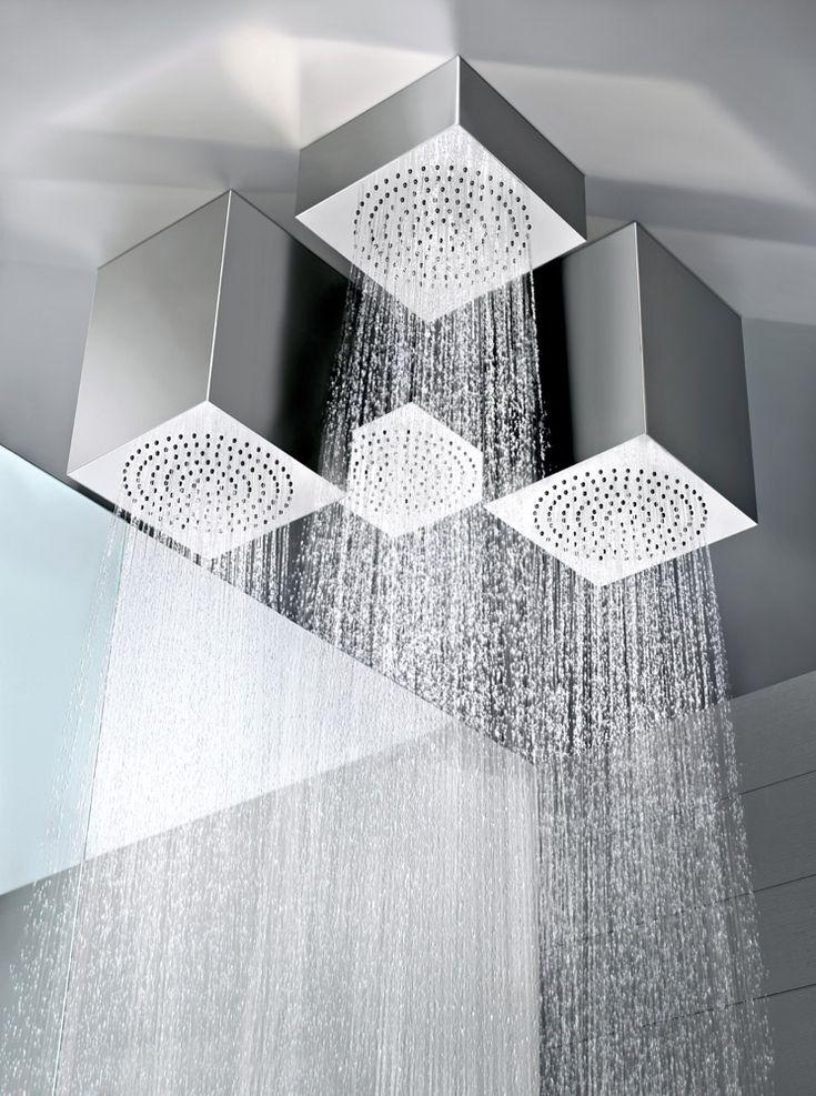 Oltre 25 fantastiche idee su soffitto in metallo su - Soffione doccia a soffitto ...