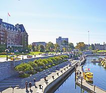 Inner Harbour, Victoria, BC is walking distance. #vacation #walking #relax #relaxation